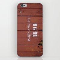 Portland Co. 1898 iPhone & iPod Skin