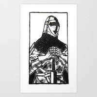 knightly Art Print