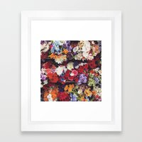 Photoreal Floral Framed Art Print