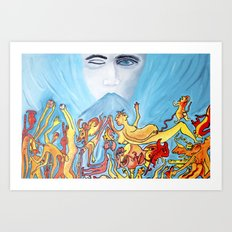 Demonii Art Print