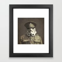 Sgt. Stormley (square Fo… Framed Art Print