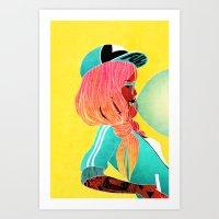 BEKKI Art Print