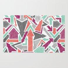 Patterned Arrows Rug