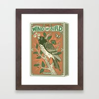 The Wind Up Bird Framed Art Print