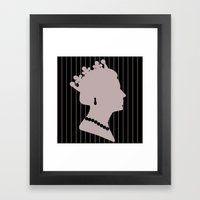 Queenie 22 Framed Art Print