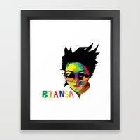 WPAP Framed Art Print