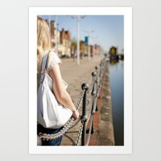 Hull port Art Print