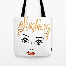 Bombshell Series: Laughter - Lucille Ball Tote Bag