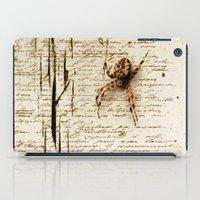 Spider Letter iPad Case