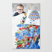 Throws Are Enjoyed By Al… Canvas Print