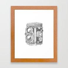 Old Machine I Framed Art Print