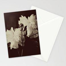 White Peony Stationery Cards