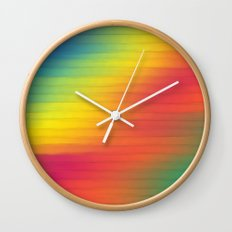Paint The Fence. Wall Clock