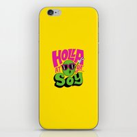 Holla At Ya' Soy iPhone & iPod Skin