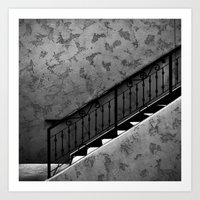 The Stairs Art Print