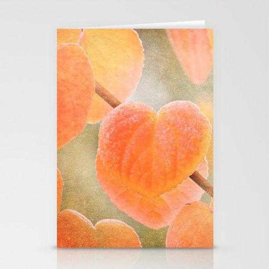 Fading Hearts Stationery Card
