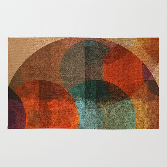 Textures/Abstract 80 Area & Throw Rug