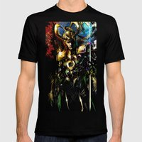 Loki Mens Fitted Tee Black SMALL