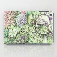 Flowerbed iPad Case