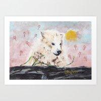 Polar Bear (day Excursio… Art Print