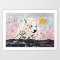 Polar Bear (day Excursio… Art Print
