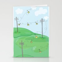 Hang A Message Stationery Cards