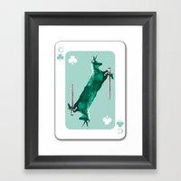 House Of Cards #1 Framed Art Print
