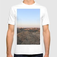 The West Mens Fitted Tee White SMALL