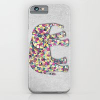 Elephant Collage In Gray… iPhone 6 Slim Case