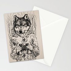 A Wolf in Sheep's Clothing Stationery Cards