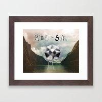 Mind the Seal! Framed Art Print