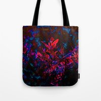 Nature Melds With Techno… Tote Bag