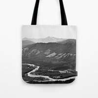 River In The Mountains B… Tote Bag
