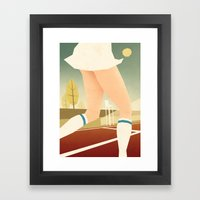 The prettiest game in the world Framed Art Print