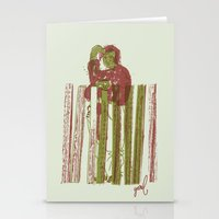 Billygoat With A Blowtor… Stationery Cards