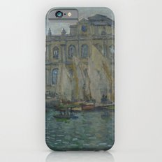 The Museum at Le Havre by Claude Monet iPhone 6 Slim Case