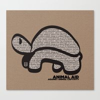 ANIMAL AID Canvas Print