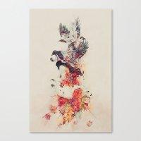 The Feast Canvas Print