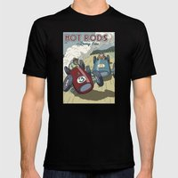 Hot Rods and Racing Cars No.26 Mens Fitted Tee Black SMALL