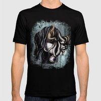 A Cubistic Me Mens Fitted Tee Black SMALL