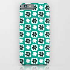 Emerald flower Slim Case iPhone 6s