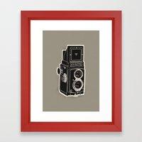 Rolleicord Framed Art Print