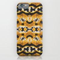 Montana Stripe - Gold iPhone 6 Slim Case