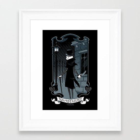 Jack the Ripper Framed Art Print