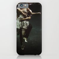 woman iPhone & iPod Cases featuring abyss of the disheartened : V by Heather Landis