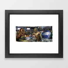 Star Wars - Let the Wookiee Win Framed Art Print