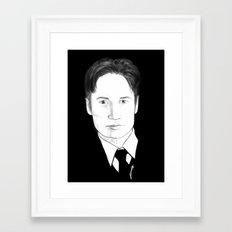the believer Framed Art Print