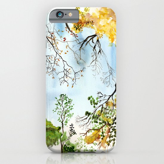 the only way out is up iPhone & iPod Case