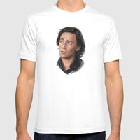 Tom - Loki Mens Fitted Tee White SMALL