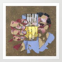 Cheers ! (Santé !) Art Print